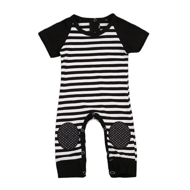 d1c22d03c Hot Newborn Infant Baby Boy Girl Romper Short Sleeve Jumpsuit ...