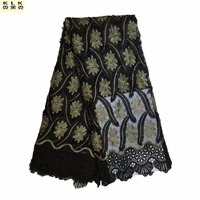 2017 Latest African Lace Fabric Embroidered R Nigerian Lace Fabrics High Quality Lovely French Lace Fabric