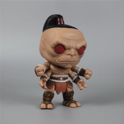 Original 6'' Funko Pop Secondhand Games: Mortal Kombat - Goro Vinyl Action Figure Collectible Model Loose Toy