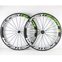 High TG Carbon Wheelset 50mm Road Bicycle Carbon Wheels Clincher Superteam Bike Racing Wheels