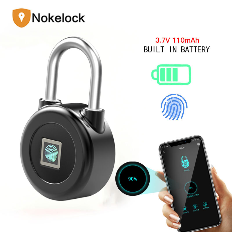 Bluetooth Fingerprint Keyless Door Lock Up to 90 Smart Lock Easy to Install