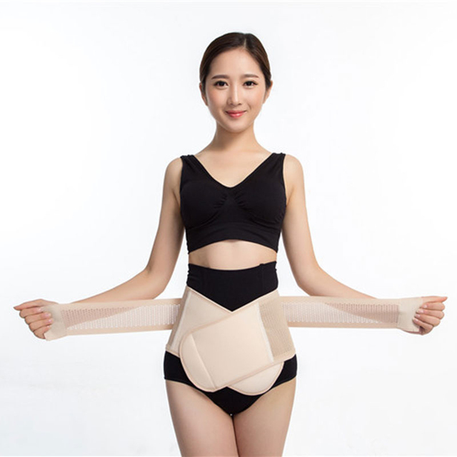 Adjustable Abdominal contraction Waist Belt Lumbar Support Back Waist Support Brace lumbar Health care