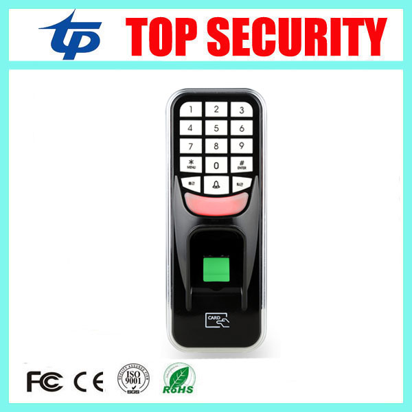 Single door biometric fingerprint door access control system with 125KHZ RFID card reader 500 users door access controller