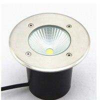 O envio gratuito de Alta Potência 15W COB CONDUZIU a luz Subterrânea AC85-265V À Prova D' Água LEVOU Ao Ar Livre iluminação IP68 8 pçs/lote