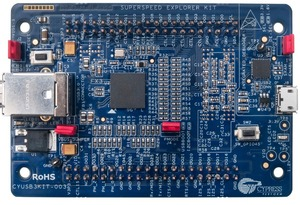 Image 4 - Placa de herramientas de desarrollo de interfaz de CYUSB3KIT 003, EZ USB FX3 SuperSpd Explor, 1 Uds.