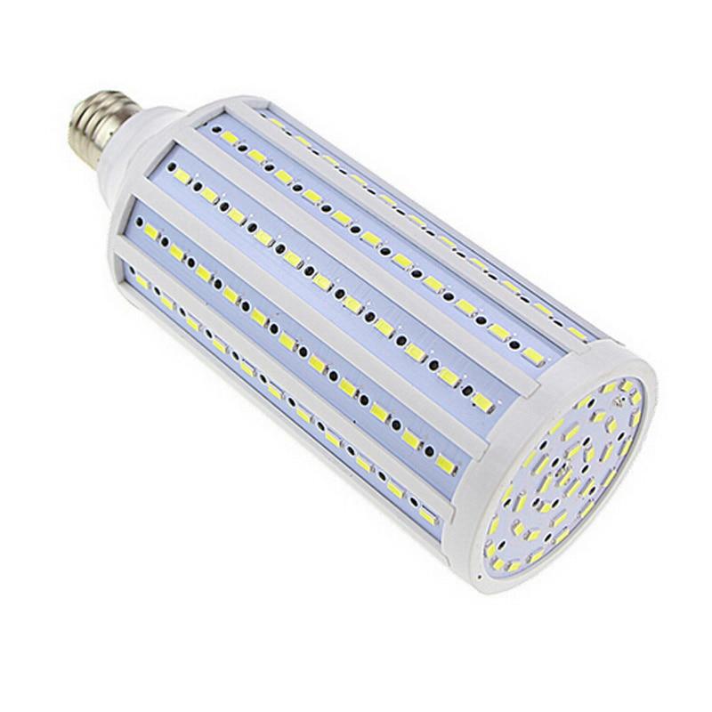 ФОТО 60w Warm White Super Bright led Lamp e27 220V Lampada Corn Bulbs Pendant Lighting Chandelier Ceiling Spot light