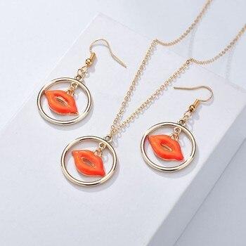 New 3PCS Women Trendy Earrings&Necklace Sets Bowknot Butterfly Rhinestone Female Jewelry 2