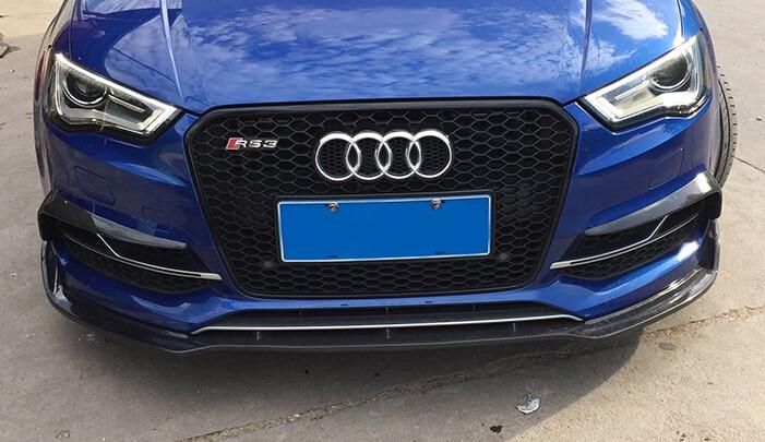 Audi A3 Exterior Mods >> S3 FOG LIGHT FRAME COVER CARBON FIBER S3 FOG LIGHT FRAME COVER FOR Audi S3 2015 Nice fitment ...