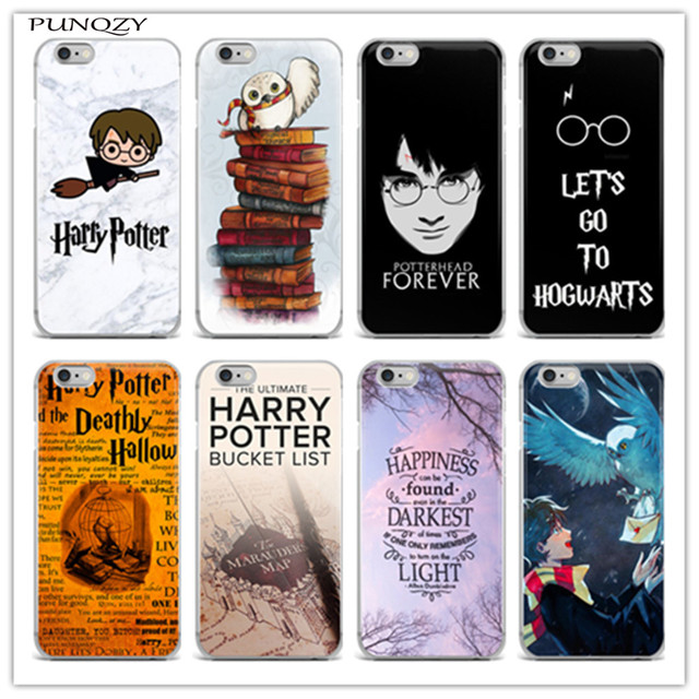 new concept 1d648 f3aa6 TPU Soft silicone Hogwarts Castle Harry Potter Watercolor Print Case Cover  for iphone 6 6S Plus 5 5S SE 7 7Plus