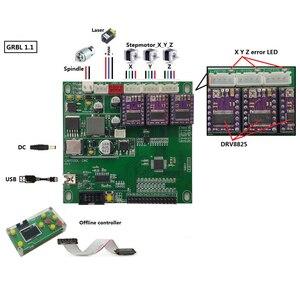 Image 3 - GRBL 0.9/1.1 V3.3/V3.4 USB Port 3 Axis Engraving Machine Control Board Offline Control Laser Engrave Machine 3018 pro/ 3018 pro