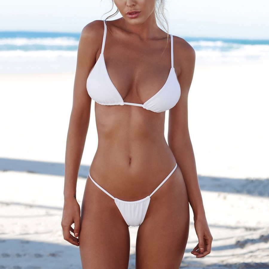 Micro Bikini 2018 Swimsuit Female Swimwear Women Bandage