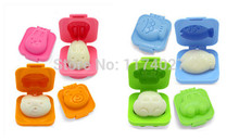 Free shipping Hot Sale 2pcs/lot Plastic Mold for Egg, Rice, Sushi, Jelly