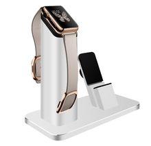 El nuevo anuncio de la venta exclusiva de Apple teléfono móvil apoyo todo metal Iwatch reloj de la aleación de aluminio de carga base