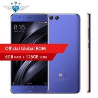 Original Xiaomi Mi6 Mi 6 Smartphone 6GB 128GB Global ROM Snapdragon 835 Octa Core 2.45 GHz 5.15'' 1920x1080 18W Fast Charge NFC