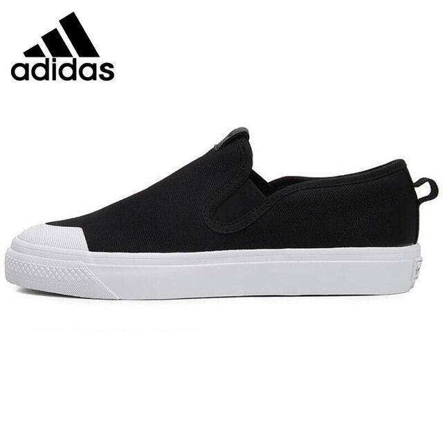 Original New Arrival 2018 Adidas Originals NIZZA SLIPON W Women s  Skateboarding Shoes Sneakers-in Skateboarding from Sports   Entertainment  on ... 5ee1259d6