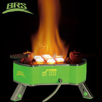 BRS Portable Folding Outdoor Camping Picnic Butane Gas powered Stove