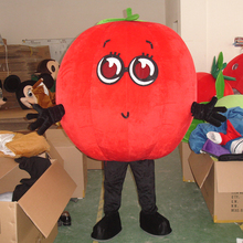 fruit of tomato mascot  costume cosplay fancy adult