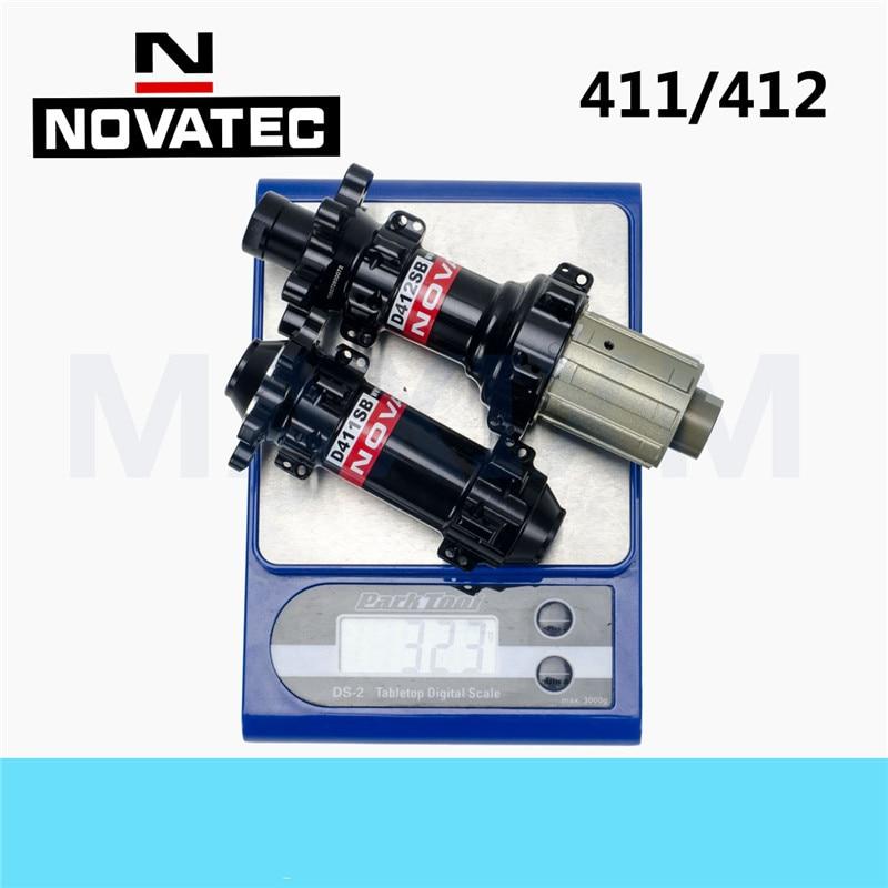 VTT de tambour de frein d'arbre de cylindre de traction droit léger de bicyclette de NOVATEC moyeu D411/D412SB