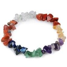 Bracelet beads 7 Chakra Healing Natural