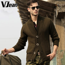 V JEAN Man's Shawl-Collar Cardigan Sweater #9A719