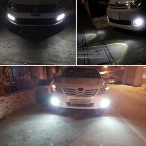 Image 5 - KEIN 2pcs H1 led ערפל הנורה רכב הנורה 30smd 4014 רכב אורות בשעות היום ריצה לבן רכב 12V אוטומטי רכב חיצוני אורות יום נהיגה
