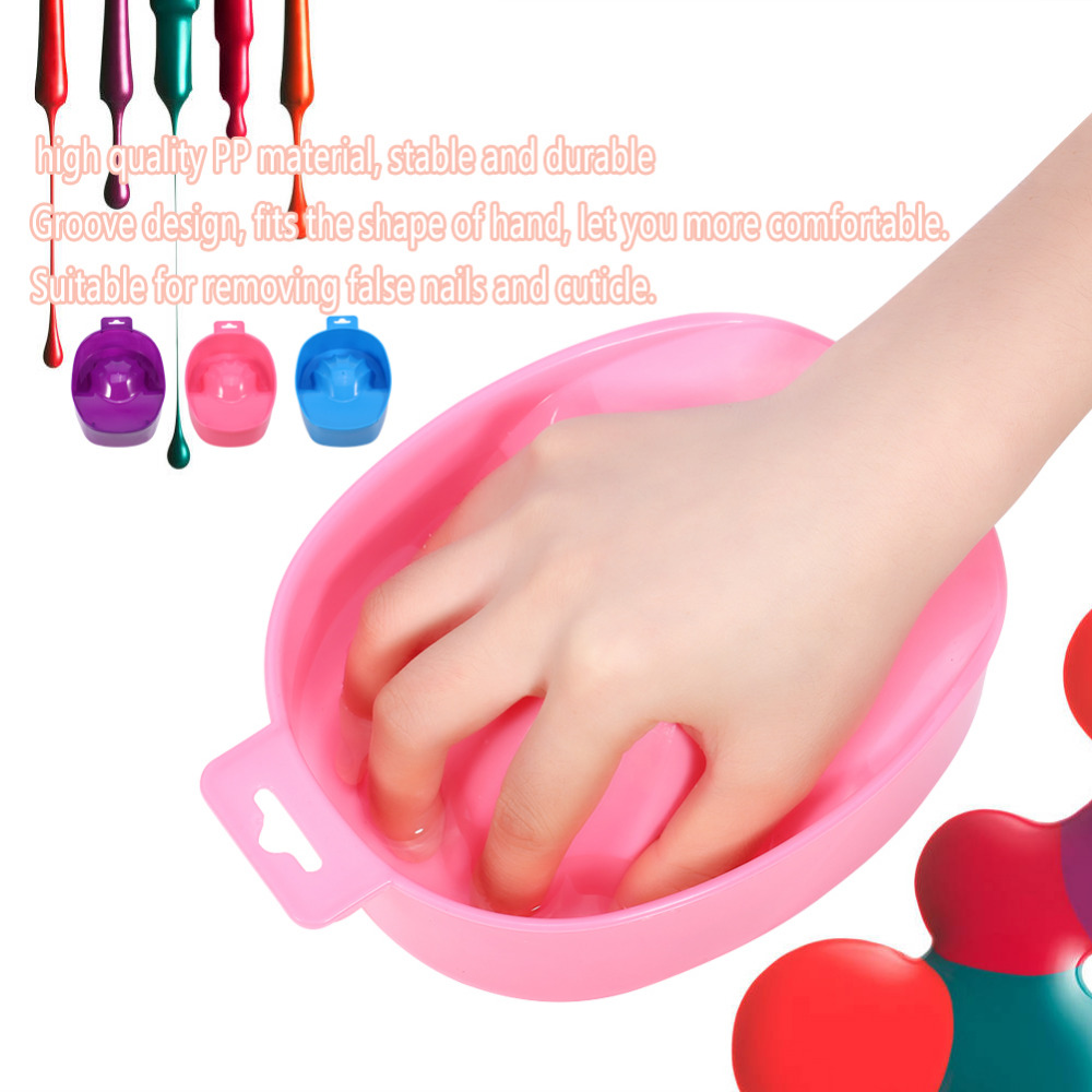 US $1 78 25% OFF|Nail Art Wash Soak Bowl DIY Salon Nail Spa Bath Manicure  Art Tips Hand Soak Bowls Polish Treatment Remover Manicure Tools-in Nail