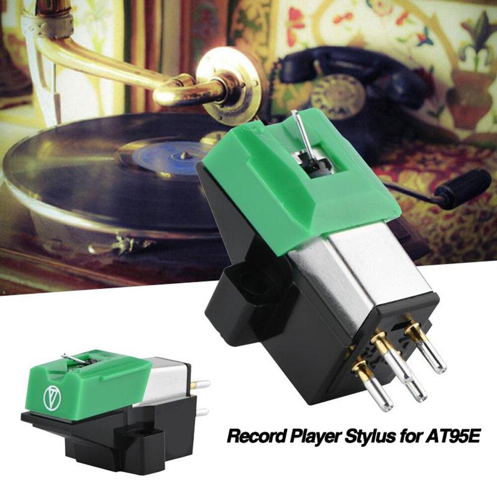 1 Pcs Grammophon Plattenspieler Rekord Vinyl Nadel Player Patrone Stylus Zubehör Für Phonographen Plattenspieler At95e Stylus Nadel Delikatessen Von Allen Geliebt