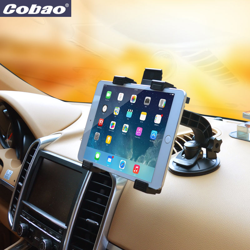 66870b45e5c484 Universal 7 8 9 10 11 inch tablet PC stand windshield tablet car holder  Mount Tablet