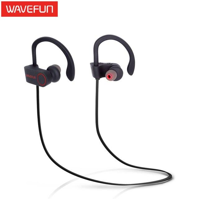 Wavefun X-Buds wireless bluetooth headphones IPX7 waterproof  stereo with bass sport earphoneergonomic design with mic headset