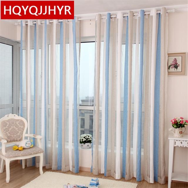 Custom Made European Luxury Tulle Curtains For Living Room Modern Sheer Bedroom High