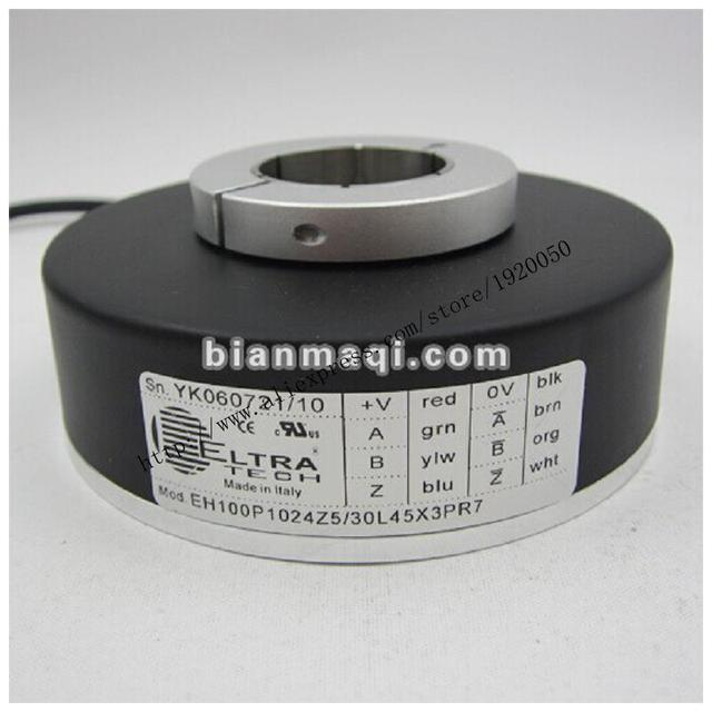 Meaning Seoul record EH100P1024Z5 / 30L45X3PR7 photoelectric rotary hollow shaft encoder pulses 1024