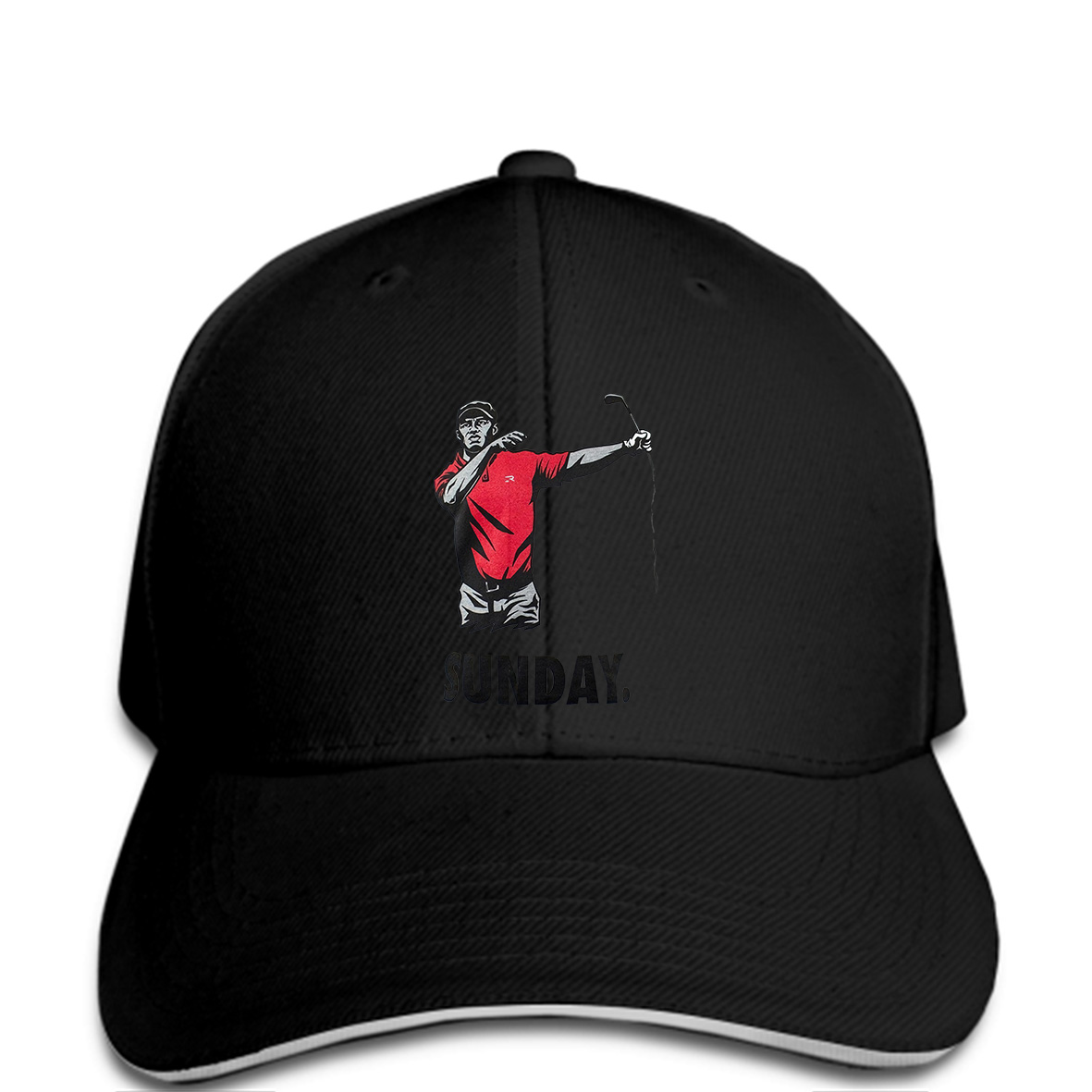 Men Baseball cap New Rool Golfs Tiger Woods Sunday Golf X large Fashion Hat  novelty tsnapback women 40c3a1cd4e5