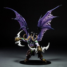 29CM Demon Form Illidan Action Figures Toys Dota 2  PVC Figures Resin Collection Model Toy Gifts Doll hot game wow demon hunter demon form figurine figure illidan stormrage statue pvc action figure resin collection model toy gifts