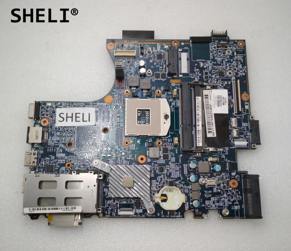 SHELI 598667-001 For HP 4520s 4720s Motherboard 48.4GK06.041