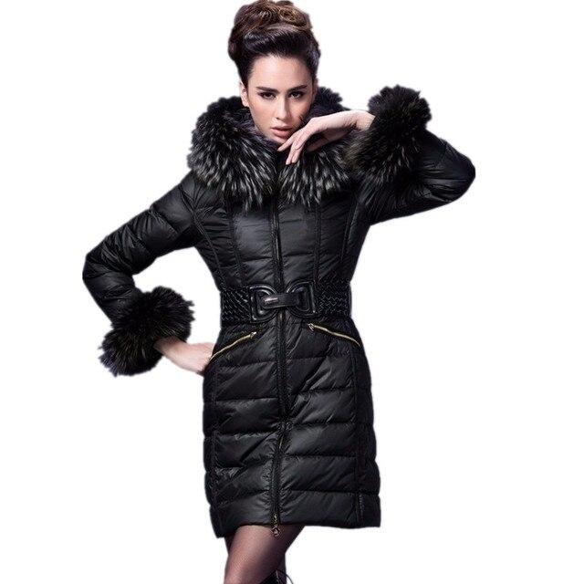 Mantel mit pelz unten