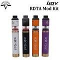 Origianl ijoy rdta mod kit 6.9 ml ilimitadas rdta edición clásica y rdta mod mecánica powered by sola batería 18650