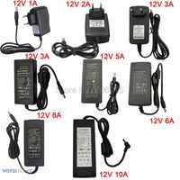 12V Power Supply AC85-265V to DC12V LED Power Adapter 12V 1A 2A 3A 5A 6A 8A 10A Low Voltage Transformer For LED Strip Light