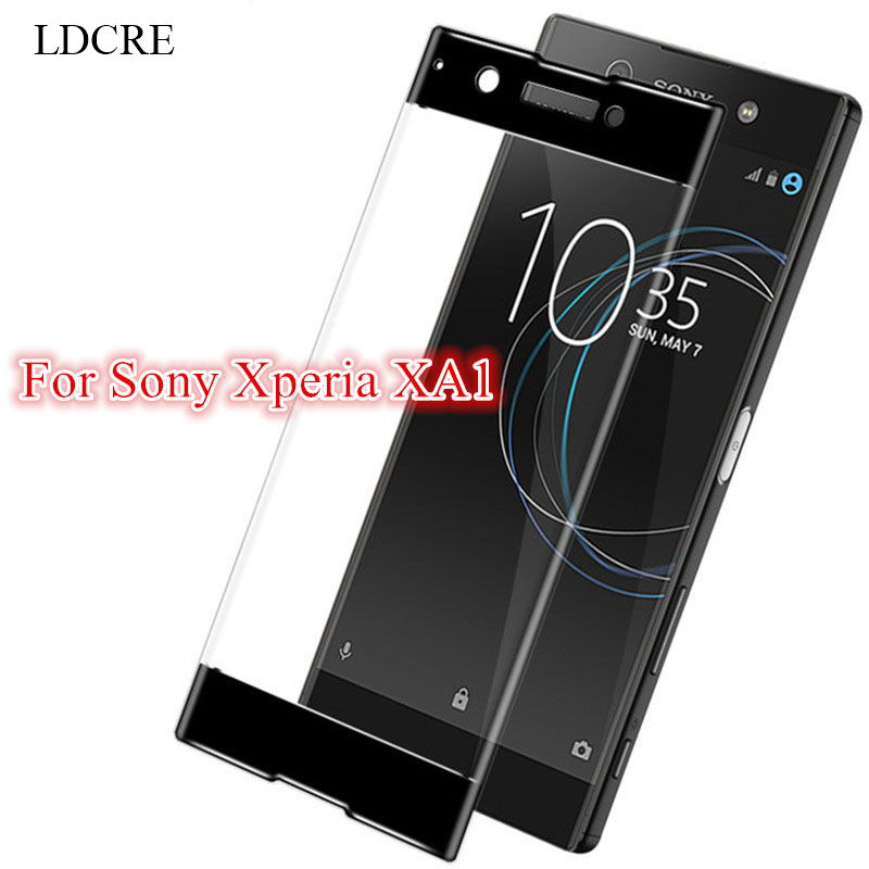 2.5D Tempered Glass for Sony Xperia XA1 Glass Screen Protector for Sony Xperia XA1 Glass for Sony Xperia XA1 Full Coverage Film