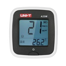 UNI-T A25M PM2.5 Testers Air Quality Measurement 0~500ug/Cubic meters Auto Range Overload Indication
