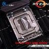 Bykski CPU Water Cooling Block Radiator Use For AMD Ryzen AM4 AM3 Transparent Acrylic With RGB