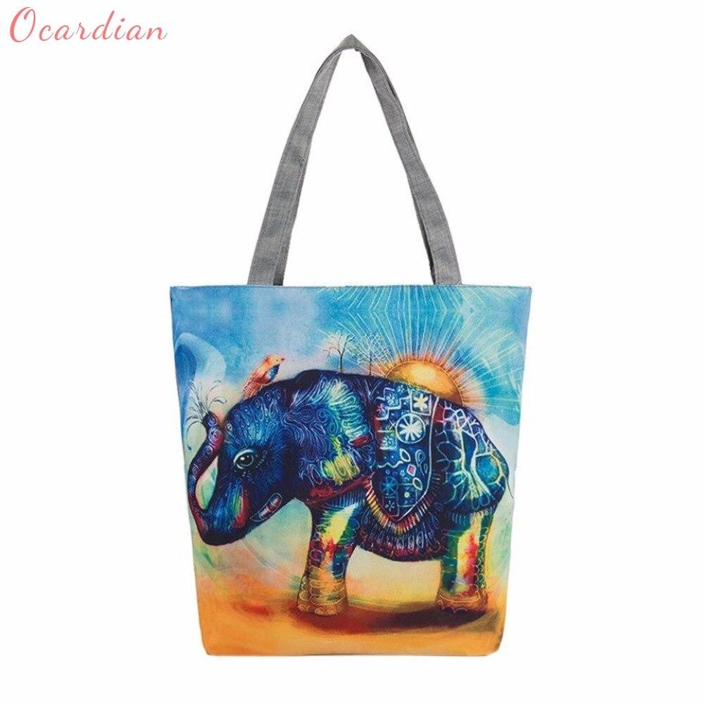 lona do elefante ocasional bolsa Modelo Número : Handbag