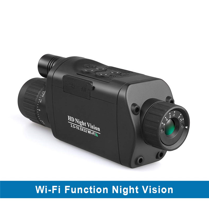 Image 2 - BOBLOV 5x32 Monocular Night Vision Digital 1280*720 WIFI IOS Android App compatible Infrared Night Vision Goggles Camera hunting-in Night Visions from Sports & Entertainment