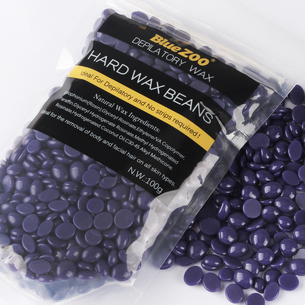 100g hard wax beans for hair removal. Black Bedroom Furniture Sets. Home Design Ideas