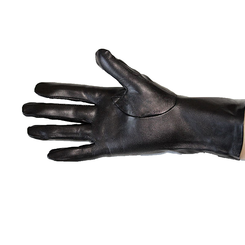 Leather gloves New women single leather unlined thin section perforated hollow spring and summer driving goatskin driver gloves in Women 39 s Gloves from Apparel Accessories