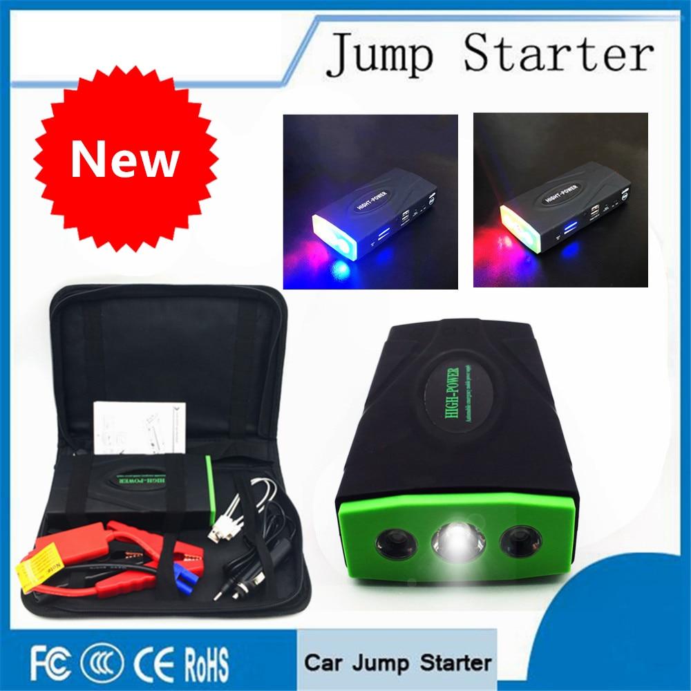 Car Jump Starter Emergency 12V Starting Device USB SOS Light Mobile Power Bank Car Charger For Car Battery Booster LED Lighter