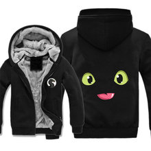 font b anime b font How to Train Your Dragon jacket cosplay costume Hoodie Thick