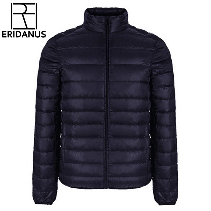 Značka Zimní bunda pánská 2017 Nové páry kabáty Ultralehký - Pánské oblečení