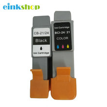 Free Shipping 1PK Black Ink Cartridge For canon BCI 24