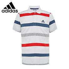 Original New Arrival  Adidas PL MULTI STRP Men's POLO shirt short sleeve Sportswear