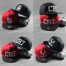 2016 New Summer Children Ronaldo CR7 Baseball Cap Hat Boys Girls MESSI font b Snapback b